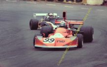 March 73A Chevrolet. John Cannon . Mallory Park Shellsport 5000 1976 action photo (a)